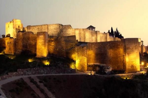 Mar de Penas a los pies de la Alcazaba