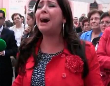 María Canet a la Virgen de la Fe y la Caridad Santa Cena | 2014