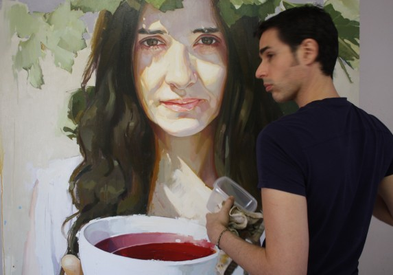 Manuel Reina autor del cartel SS 2015