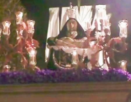 Alfonso Salmerón a la Virgen de las Angustias | 2010
