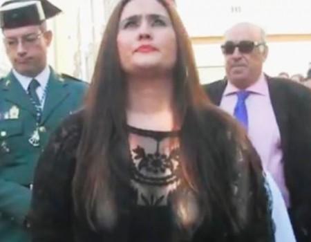 Anabel por seguiriya acabando en martinete a María Santísima de la Estrella | 2015