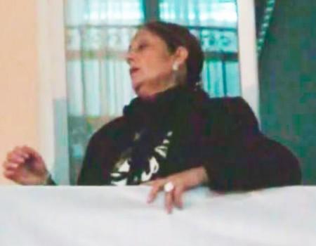 Antonia López a la Virgen de la Esperanza Estudiantes | 2011