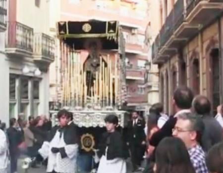 Antonia López a la Virgen de los Dolores Entierro |2014