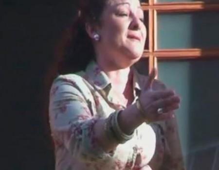 Antonia Romero al Cristo del Amor | 2011