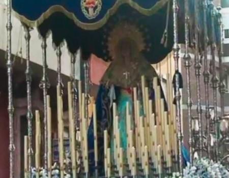 María Canet a la Virgen del Primer Dolor Amor | 2012