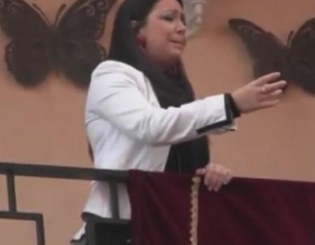 María Canet al Cristo de la Misericordia Los Ángeles | 2013