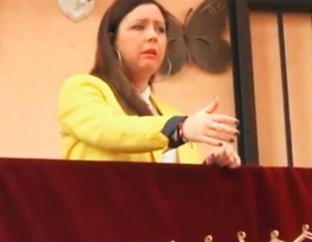 María Canet por seguiriya acabada en debla al Cristo de la Misericordia, los Ángeles | 2015