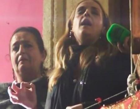 Rocío Zamora al Cristo de la Caridad por seguiriyas Gravina | 2015