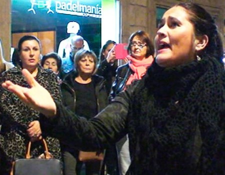 Anabel Castillo a la Virgen del Amparo por seguiriyas y martinete | 2016