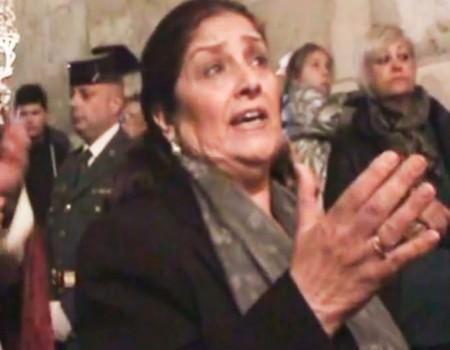 Antonia López a Maria Stma de la Amargura por carceleras Encuentro | 2016