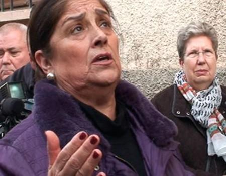 Antonia López canta al Cristo del Mar una saeta carcelera | 2016