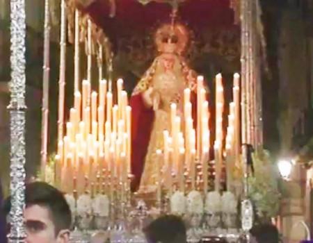 El Niño de las Cuevas a la Virgen de los Desamparados por Carceleras | 2016