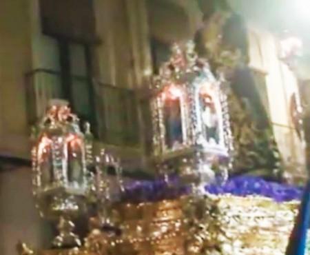 El Niño de las Cuevas al Cristo de Medinaceli, saeta por seguiriyas   2016
