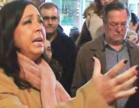María Canet a Maria Santísima de la Fe y la Caridad Saetas de Almería | 2016