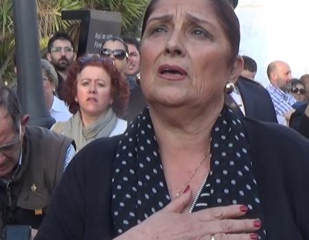 Antonia López a Jesús de las Penas por carceleras | 2017