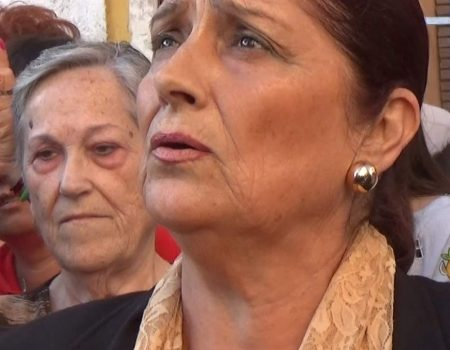 Antonia López al Cristo del Mar saeta por carceleras | 2017