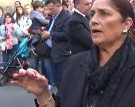 Antonia Lopez a Ntra Sra de los Dolores por carceleras | 2017