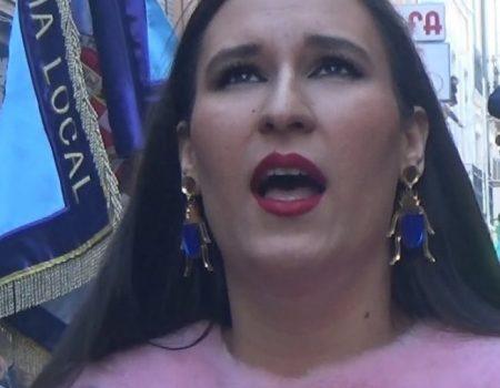 Ana Mar, saeta por seguiriya y martinete al Cristo el Amor | 2018