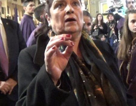 Antonia López a Pasión, saeta por carceleras a la Virgen de los Desamparados | 2018