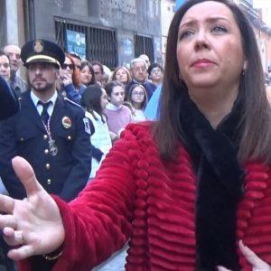 María Canet,  saeta por seguiriya y debla a Ntra. Señora del Primer Dolor 2018