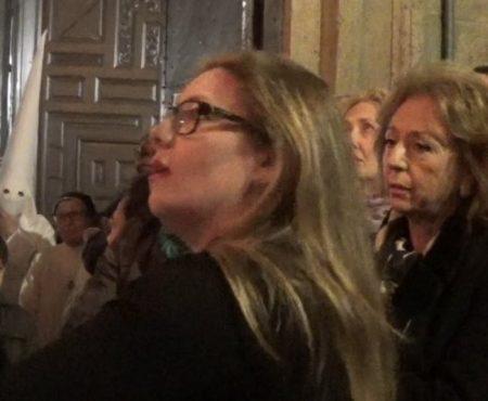 Montse Pérez, saeta por seguiriya a la Virgen de Fe y la Caridad | 2018