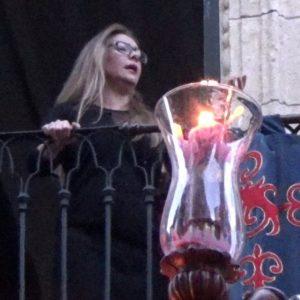 Montse Pérez, saeta por seguiriyas a la Santa Cena   2018