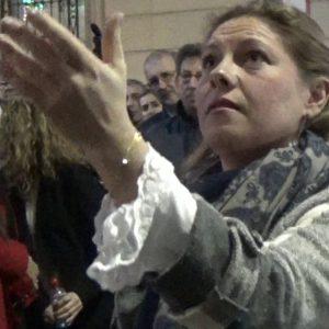 Montse Pérez al Gran Poder,  saeta por seguiriya   2018
