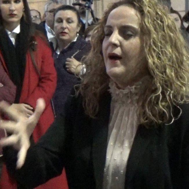 Rocio Zamora a Jesus de la Humildad