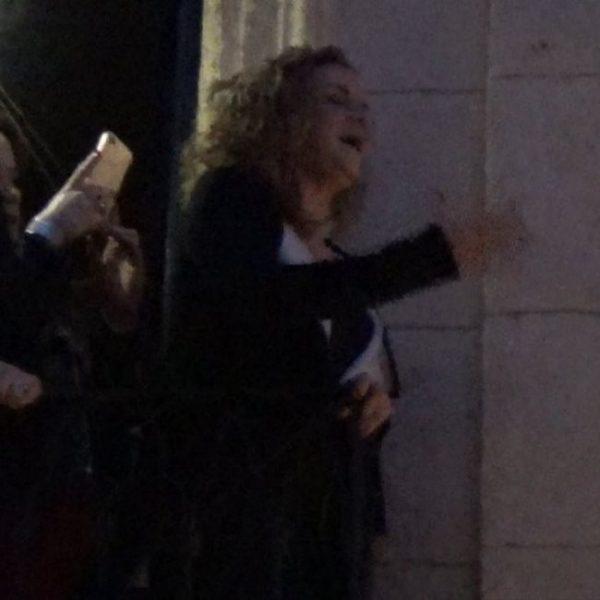 Rocío Zamora, saeta por seguirilla a la Virgen de Fe y Caridad   2018