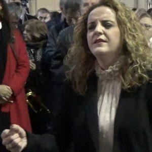 Rocío Zamora al Gran Poder, saeta por seguiriya   2018