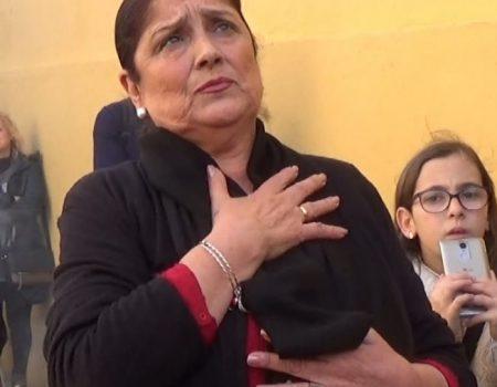 Antonia López, saeta por carcelera  al Cristo del Mar | 2018