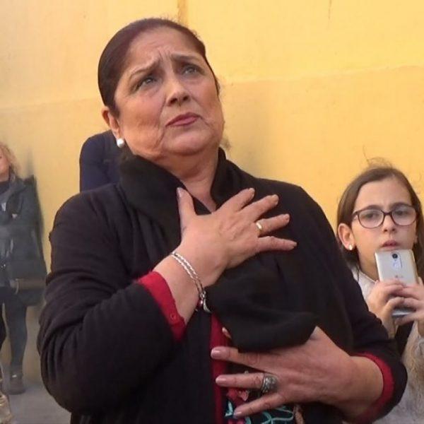 Antonia López, saeta por carcelera  al Cristo del Mar   2018