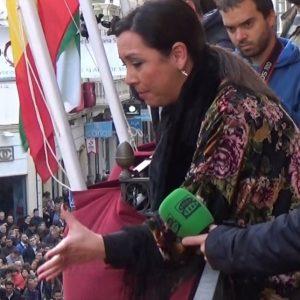 María Canet canta una saeta por seguiriya terminá en debla a Ntra.  Sra. de las Angustias   2018