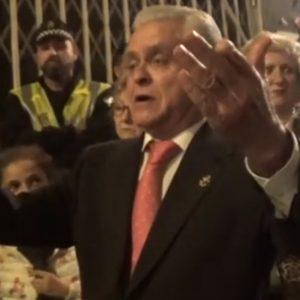 Alfonso Salmerón a la Soledad en su recogida saeta por seguirilla | 2019