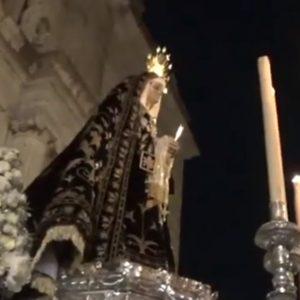 El Niño e las Cuevas a la Soledad en su Recogida saeta por seguirilla | 2019