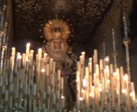 El Niño de las Cuevas a Ntra. Señora de la Merced saeta por colombianas | 2019