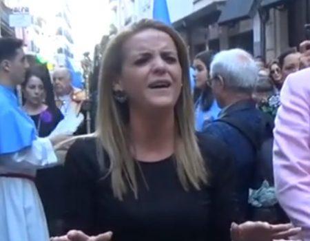 Rocío Zamora a Ntra. Sra. del Primer Dolor, saeta por seguirilla | 2019