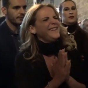 Rocío Zamora a la Soledad en su recogida saeta por seguirilla | 2019