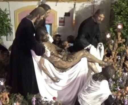 Ana Mar, Rocío Zamora y Eduardo López a la Cofradía de la Caridad saetas por seguirilla | 2019