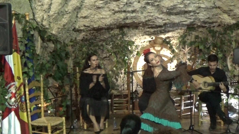 Alegrias Virginia Garcia al cante Ana Mar al toque Antonio Quero y a las palmas Niño de las Cuevas.Movie_Instantánea