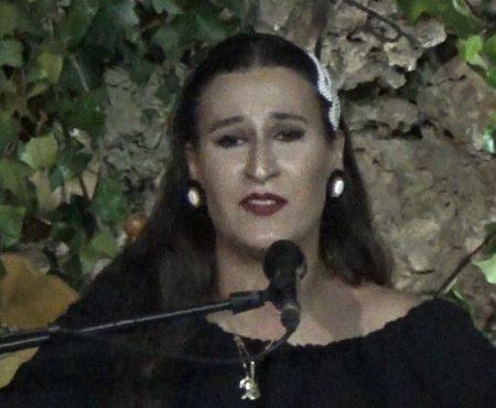 Caña, al cante Ana Mar a la guitarra Antonio de Quero y a las palmas Niño de la Cuevas