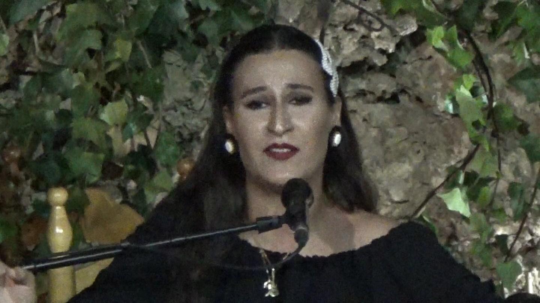 Caña. Al cante Ana Mar a la guitarra Antonio de Quero y a las palmas Niño de la Cueva.Movie_Instantánea