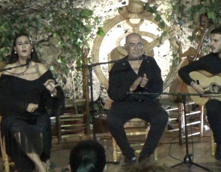 Cuplé por Bulerías, al cante Ana Mar al toque Antonio Quero y a las palmas Niño de las Cuevas