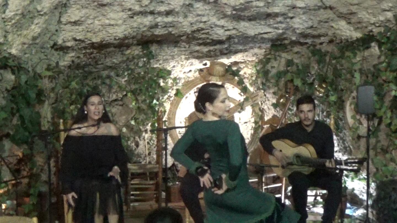 Fandangos de Huelva al balile Virginia Garcia cante Ana Mar al toque Antonio Quero y a las palmas Niño de las Cuevas (2).Movie_Instantánea