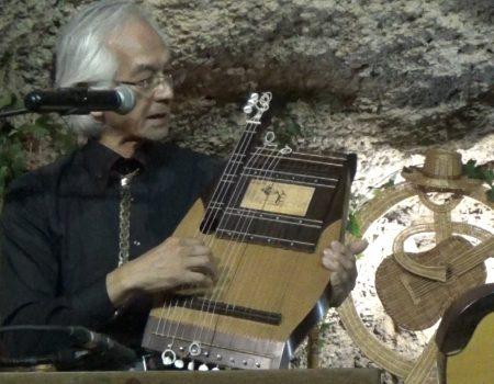 Jiro Yoshikawa y Isako Noguchi, concierto para dos mandolinas y Cuco de Luis Ricardo Bajin