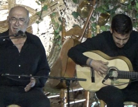Soleá apolá al cante Niño de las Cuevas y a la guitarra Antonio de Quero