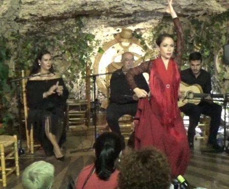 Taranto, al baile Virginia García, al cante Ana Mar, al toque Antonio Quero, palmas Niño de las Cuevas