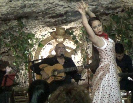 Zambra, al baile Virginia García | al cante y al toque, Niño de las Cuevas y Antonio Quero