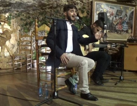 Eduardo López al cante, por cantiñas y otros  | Antonio de Quero al toque