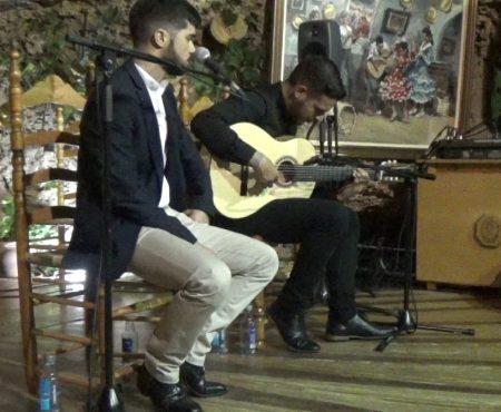 Taranta del Cojo de Málaga, taranta levantina por Eduardo López y Antonio de Quero a la guitarra
